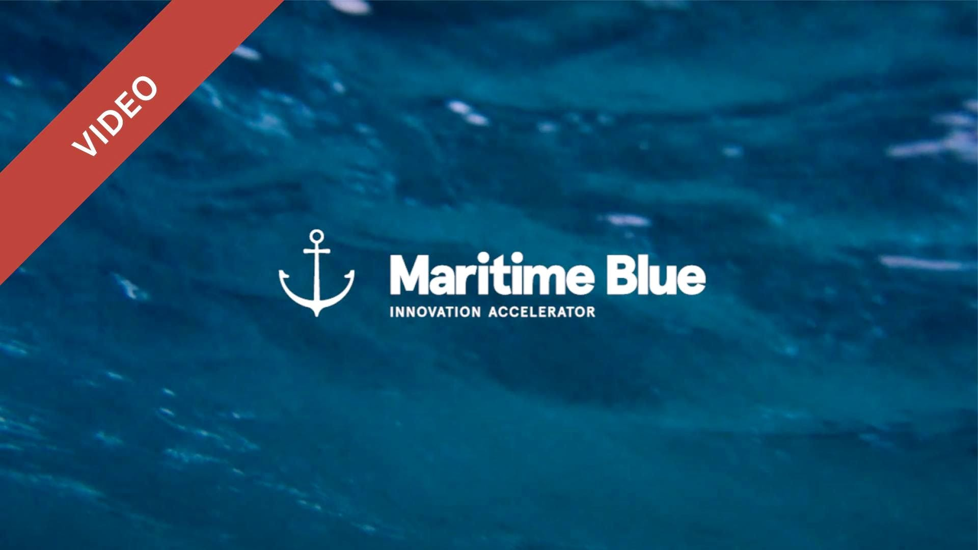 Maritime Blue Innovation Accelerator Startup Showcase