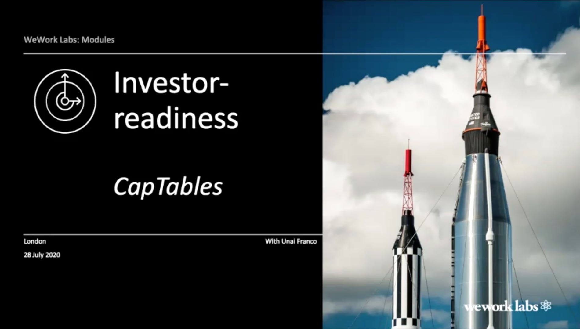 Investor Readiness - Building a Cap Table - with Unai Franco