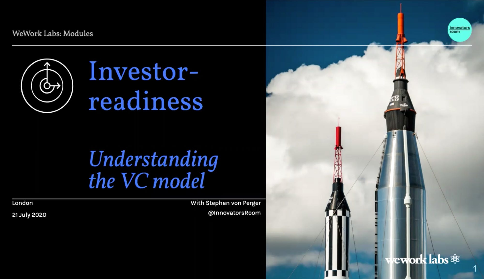 Investor Readiness: Understanding the VC model - with Stephan von Perger