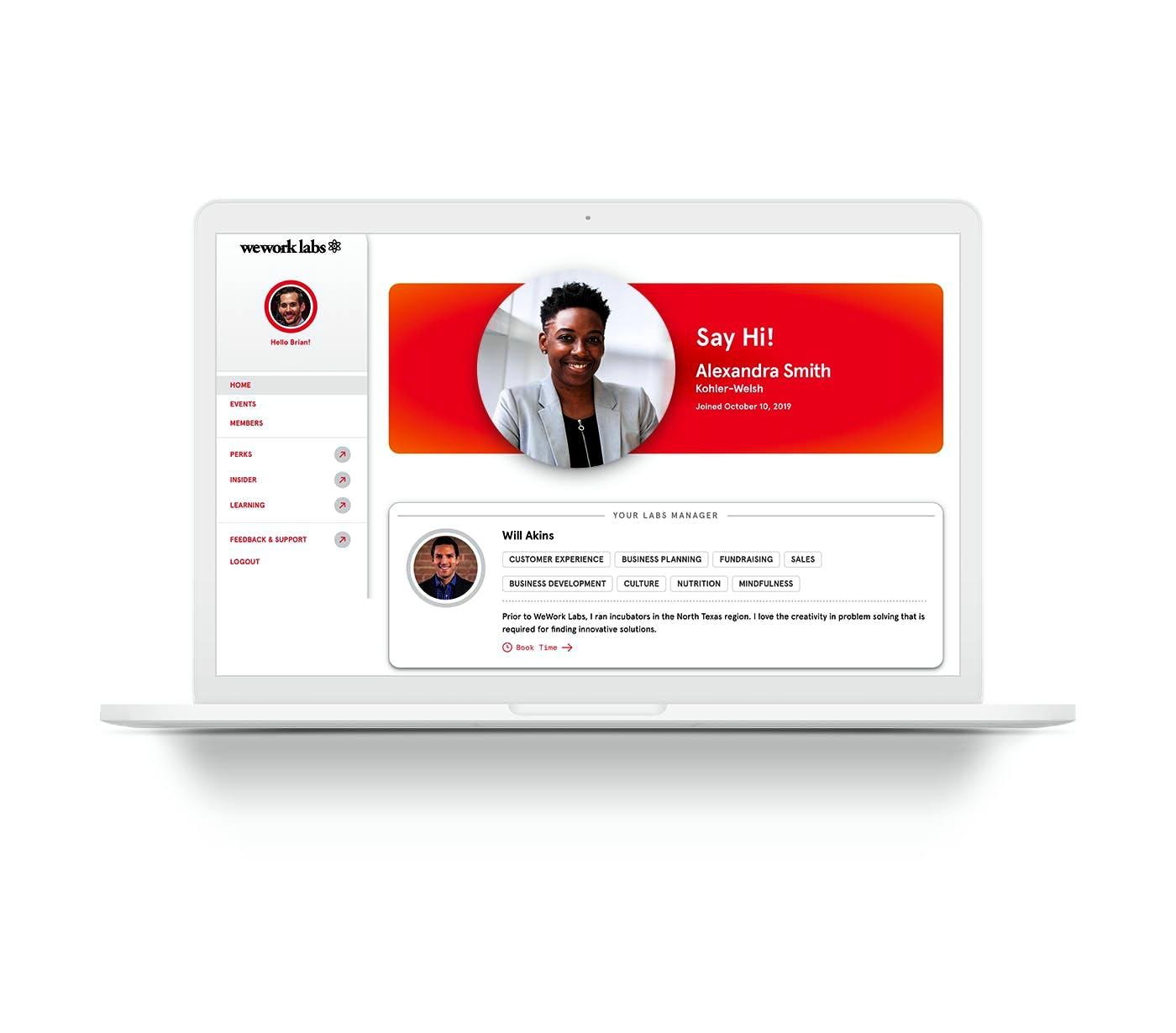 WeWork Labs Member Portal FAQ