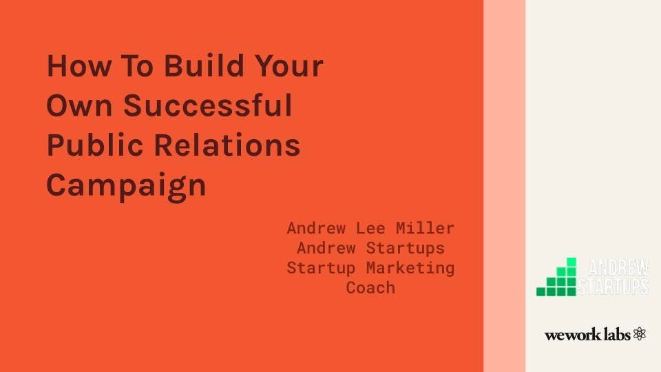How To Build Your Own Successful Public Relations Campaign