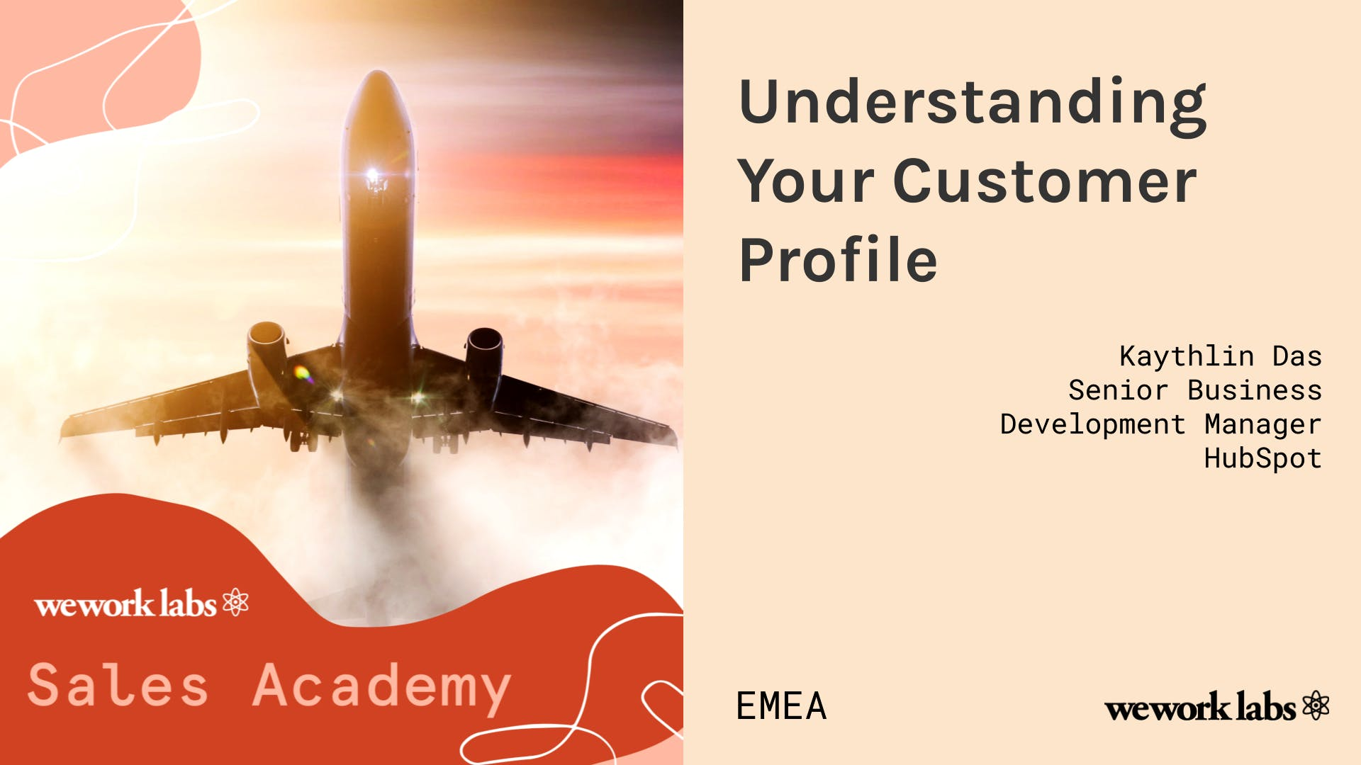 Sales Academy (EMEA): Understanding your Customer Profile
