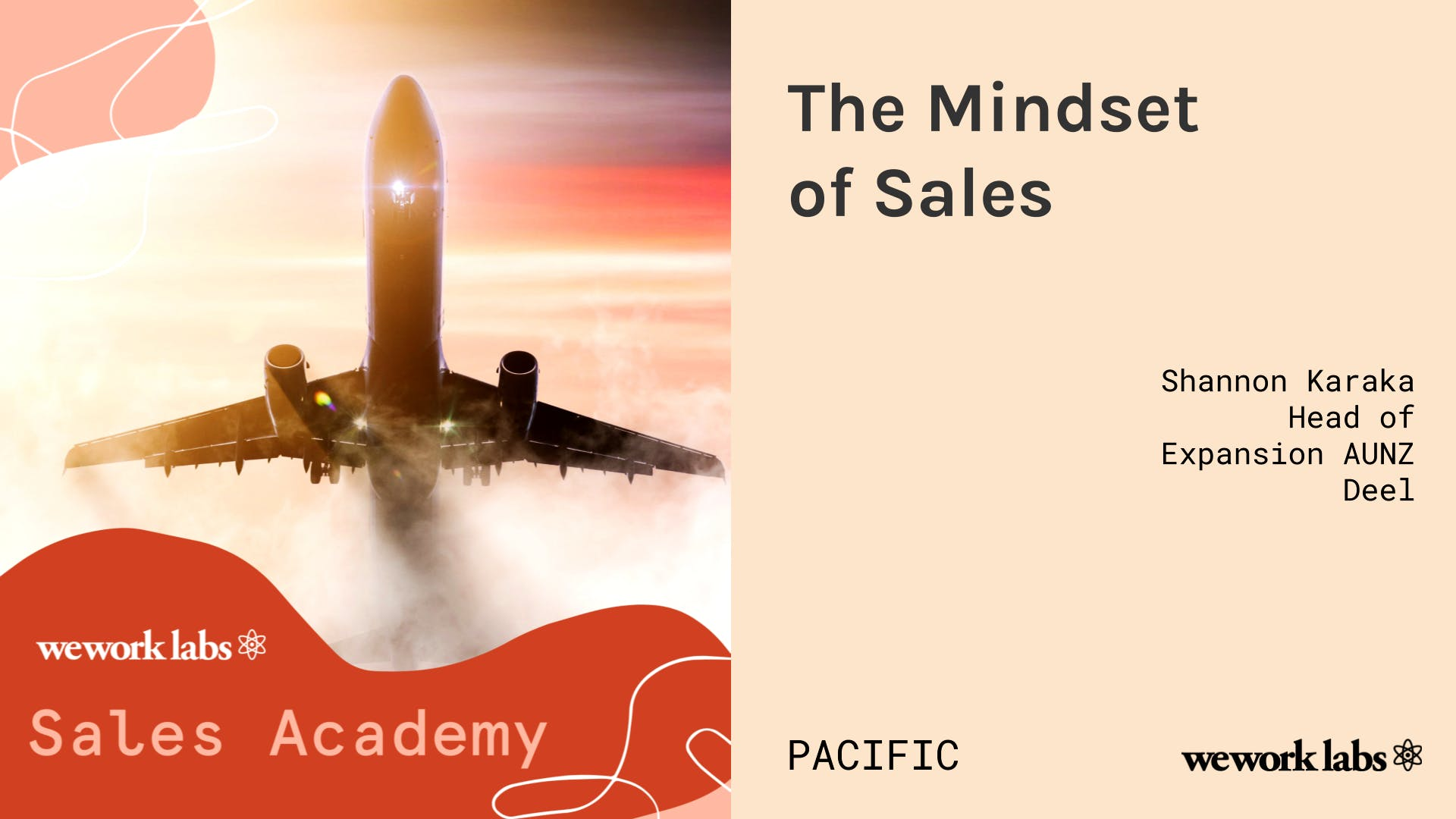 Sales Academy (Pacific): The Mindset of Sales
