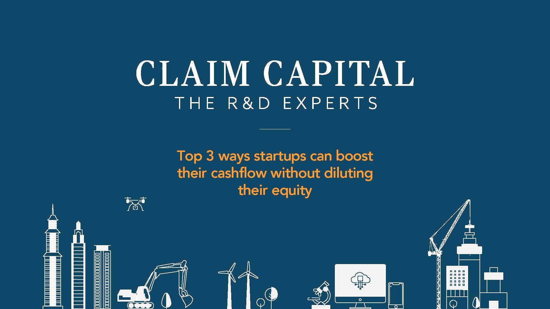 Top 3 ways startups can boost their cashflow without diluting equity