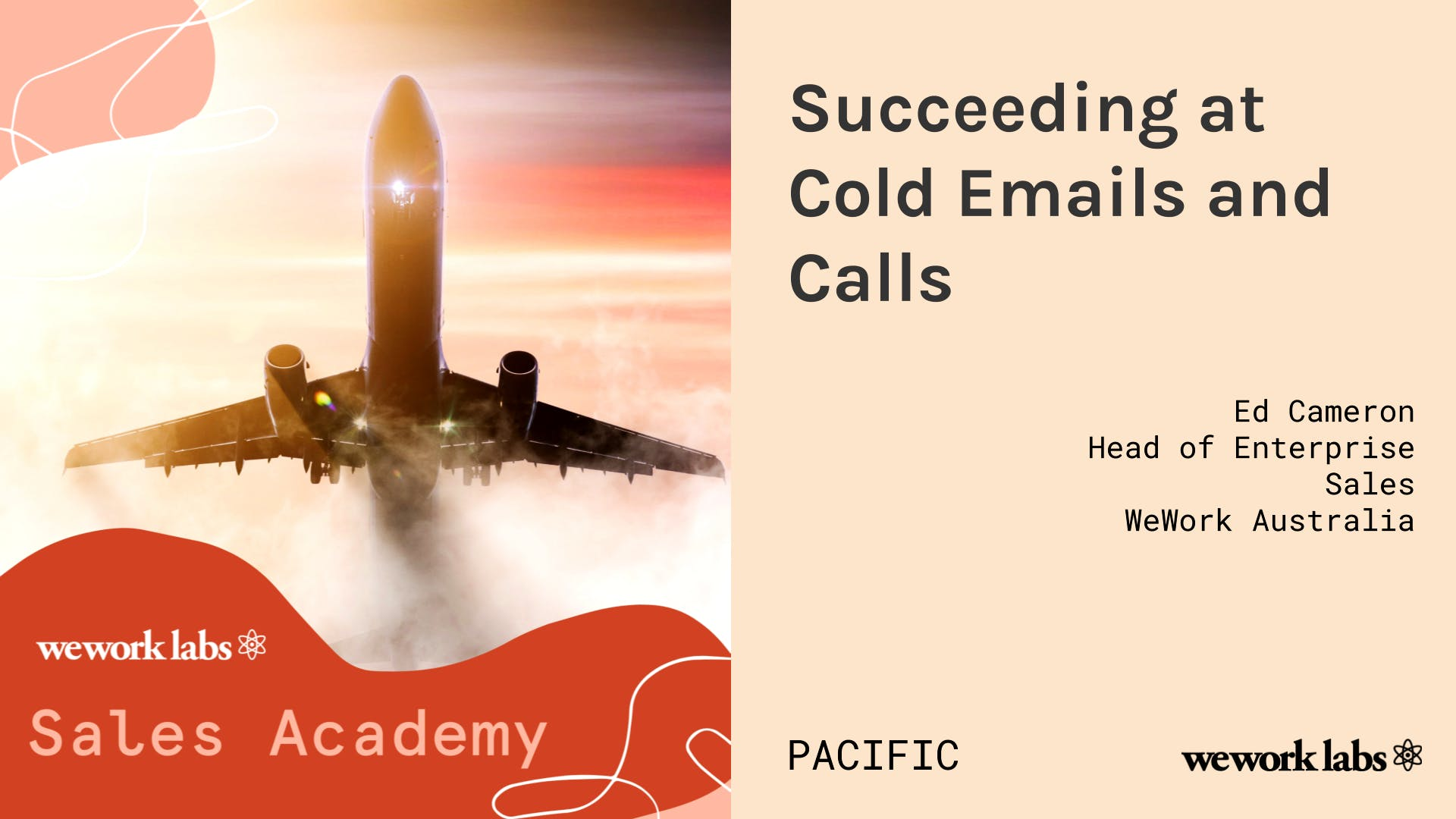 Sales Academy (Pacific): Succeeding at Cold Emails and Cold Calls