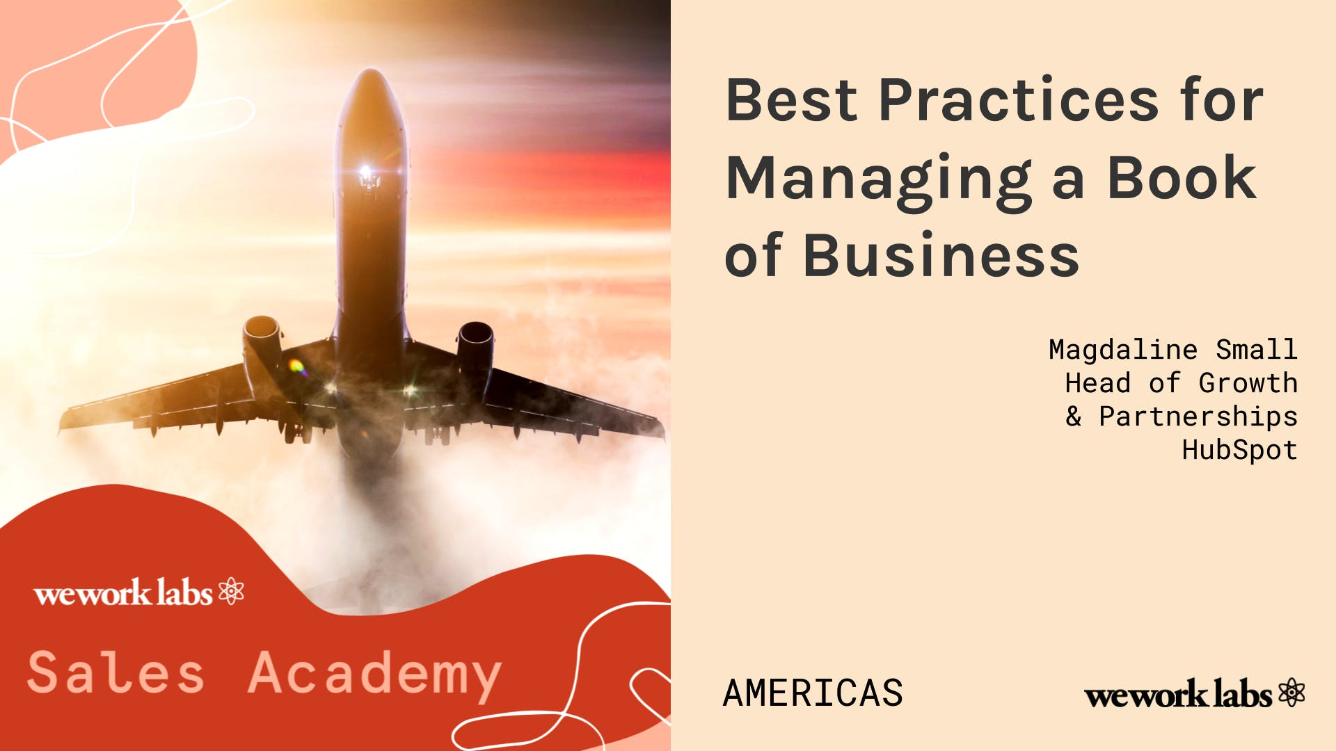 Sales Academy (Americas): Best Practices for Managing a Book Of Business